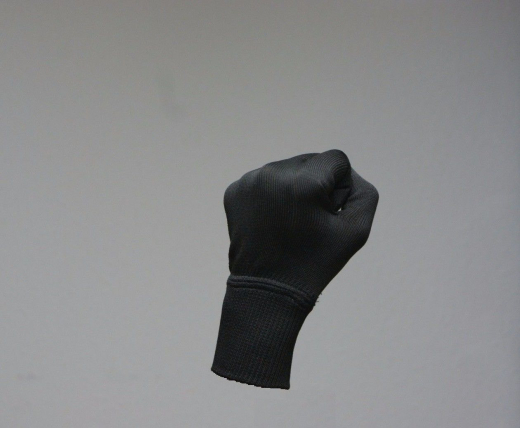 Microfaserhandschuhe schwarze Handschuhe, 100 % Microfaser