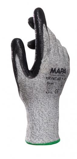 MAPA, Krynit 563 dünner Schnittschutzhandschuh aus synthetischem Schnittschutzgewebe, VPE 12 Paar