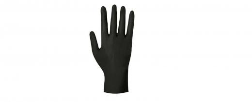 Einmalhandschuhe Einweghandschuhe Nitrilhandschuhe 1000 (10x100Stück) schwarz