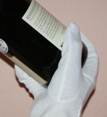 10 Paar Handschuhe aus Baumwolle mit Noppen