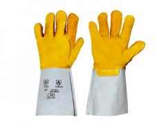 Kaminhandschuhe Hitzeschutzhandschuhe, gelb