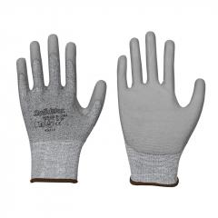 Schnittschutz-Handschuh • PU-Beschichtung • Farbe: grau • Stufe B